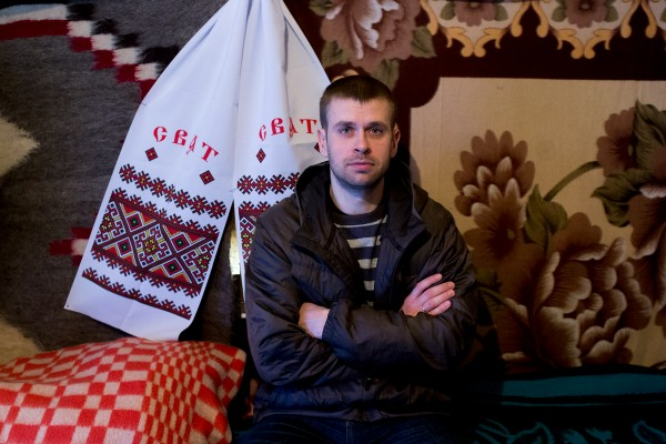 Dima Lyamin is one of the clerics in Maidan who provide spiritual help to people suffering from psychological traumas.